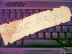 Cerita Cokelat Stroberi: Never Give Up!