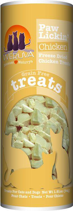 Weruva Paw Lickin' Chicken Freeze-Dried Dog & Cat Treats