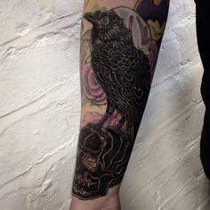 by RWA Tattoo Cut Crease Eyeshadow, Simple Eyeshadow, Eyeshadow For Brown Eyes, Colorful Eyeshadow, Blast Over Tattoo, Epic Tattoo, Tattoo Art, Clever Tattoos, Piercing Tattoo