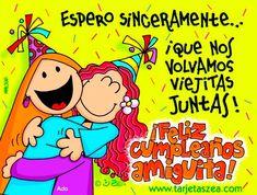 Frases De Amigas Por Siempre | Tarjetas de cumpleaños | Tarjetas Zea - tarjetas, imagenes de amor ... by sandra1969