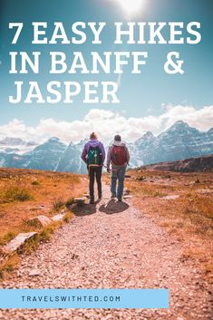 Banff and Jasper National Parks have some of the most scenic hikes in North Amer… – Travel Banff National Park Canada, Banff Canada, Jasper National Park, Alberta Canada, Canada Travel, Travel Usa, Vancouver Vacation, East Coast Usa, Physical Condition
