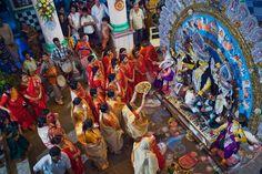 14 Evocative Pictures of Kolkata's Durga Puja Festival: Durga Puja Worship and Rituals