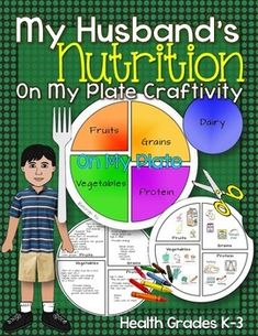 My Husband's Nutrition Craftivity: On My Plate, Health Grades K-3 ($)