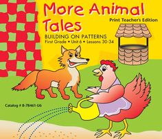 Building on Patterns: Primary Braille Literacy Program: First Grade: Unit 6 Teacher's Edition More Animal Tales. This Teachers Manual is purchased separately from the First Grade: Unit 6 Student Kit - UEB.  IMPORTANT: Download the free UEB Teacher Supplement for each Teacher's Edition here BOP First Grade Unit 6 UEB Teacher Supplement and use the information in the supplement to mark up your Teacher's Edition.