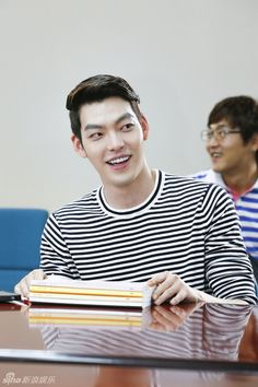 Kim Woo Bin - SBS Releases Pictures of the Full Cast Script Reading for #Heirs