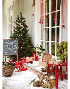 Outdoor Christmas Decoration: 6 Ideas to Steal - ambiance Noël - [post_tags