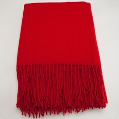 I pinned this Waterwave Cashmere Blend Throw in Red Lipstick from the pür cashmere event at Joss and Main!