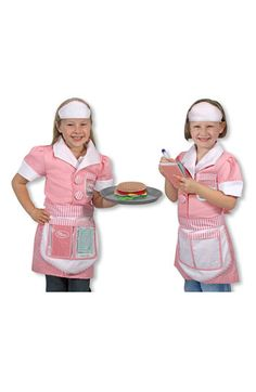 Melissa & Doug 'Waitress' Costume (Toddler) available at #Nordstrom