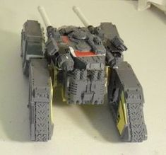 From the rear, post comment here: 40k Imperial Guard, Deathwatch, Sci Fi Models, Armored Fighting Vehicle, Warhammer 40k Miniatures, Tank Design, Battle Tank, Fantasy Miniatures, Warhammer 40000