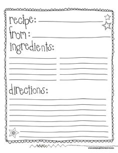Free Recipe Card Templates For Word Unique Free Classic Recipe Card Printables  Definitely Doing This On My .