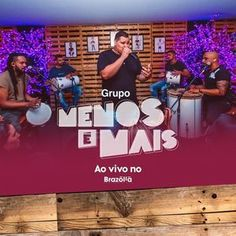 BAIXAR CD GRUPO MENOS É MAIS AO VIVO NO BRAZOLA 2020, BAIXAR CD GRUPO MENOS É MAIS AO VIVO, BAIXAR CD GRUPO MENOS É MAIS, GRUPO MENOS É MAIS Samba, Rap, Vivo, Download, Less Is More, Snood, Living Alone, Male Hair, Wraps