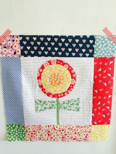 Bloom Sew Along Block #14 featuring Penny Rose reproduction and vintage inspired fabrics #ilovepennyrose #fabricismyfun