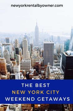 Whether you are planning a road trip or quick plane ride, here are the best NYC getaway ideas that you can pull off for a short trip. New York Vacation, New York City Travel, Vacation Rentals, New York Summer, New York Winter, Weekend In Nyc, Weekend Trips, Places To Travel, Places To Visit