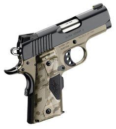 Kimber Ultra Covert II. I like this little pocket pistol.