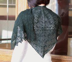 Ravelry: Vinca Shawl pattern by Miriam L. Felton