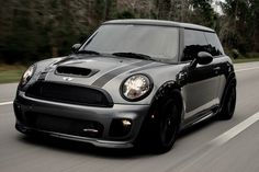 Mini Cooper S With Wide Body Kit Bigger Wheels Stunning