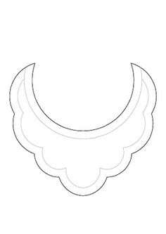Bib necklace templates