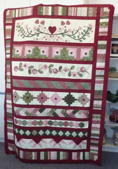 My First Sampler Quilt - Row-by-Row.