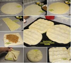 KETE nasil yapilir icli kete erzurum ketesi (88) Armenian Recipes, Turkish Recipes, Ethnic Recipes, My Favorite Food, Favorite Recipes, Pizza, Bakery Cakes, Lunches And Dinners, Food And Drink