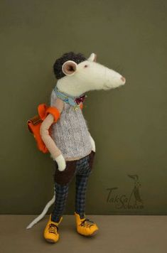 Купить или заказать Крыска в интернет-магазине на Ярмарке Мастеров. Крыска…