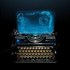 Typewriter console by ~TazioBettin