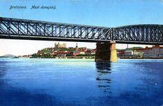 Dovidenia, viszontlátásra, auf Wiedersehen, Starý most! (26 veľkých fotografií) - Bratislavské rožky Bratislava, Ufo, Bridge, Bridges, Attic, Bro