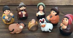 Un favorito personal de mi tienda Etsy https://www.etsy.com/es/listing/481100922/nativity-scene-8-pieces