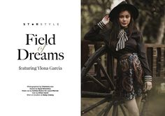 Field of Dreams featuring Ylona Garcia - Star Style PH Ylona Garcia, Field Of Dreams, Star Fashion, Spotlight, Ph, Celebrity, Makeup, Style, Make Up