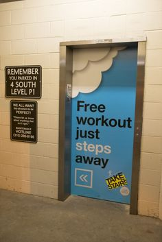 take the stairs campaign posters - Google Search