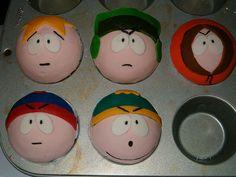 South Park cupcakes! AHHHHHHHHHHHHHHHHHHHHHHHHHH  @Bra