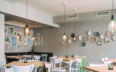 Branding and Interior Design for an Vegetarian Restaurant