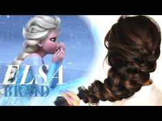 ★FROZEN+ELSA'S+messy+BRAID+HAIR+TUTORIAL+|+CUTE+HAIRSTYLES