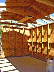 shed Small Shed Plans, Wood Shed Plans, Small Sheds, Shed Building Plans, Diy Shed Plans, Bicycle Storage Shed, Storage Shed Plans, Backyard Bar, Backyard Sheds