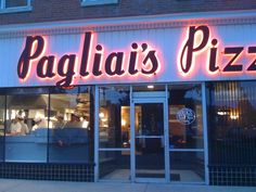 OMG..... Pagliai's!!!! The best pizza ever.