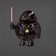 Artist Illustrates 'Chunky' Versions Of Famous Pop-Culture Characters - DesignTAXI.com