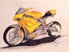 Ducati panigale sketch