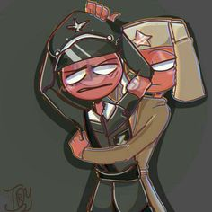 Random pictures of countryhumans - 19 (USSR x Nazi) - Wattpad Canadian Memes, Le Book, Country Men, Cute Gif, Wattpad, Some Pictures, All Art, Laos, Pikachu