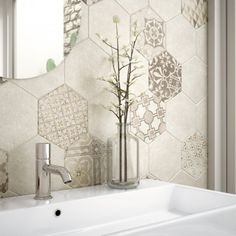 Hexatile is a series of tile from the Spanish manufacturer Equipe. Cercaie Exhibition 2013, where the collection has been presented for the first time, marked a new era of popularity...