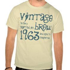 ==>>Big Save on          50th Birthday Gift 1963 Vintage Brew G238B Shirt           50th Birthday Gift 1963 Vintage Brew G238B Shirt In our offer link above you will seeDiscount Deals          50th Birthday Gift 1963 Vintage Brew G238B Shirt please follow the link to see fully reviews...Cleck See More >>> http://www.zazzle.com/50th_birthday_gift_1963_vintage_brew_g238b_shirt-235935699197381901?rf=238627982471231924&zbar=1&tc=terrest