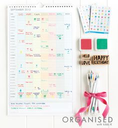 An Organised Life: Inspiration // The benefits of an organised life are huge; more free time, improved moods, money saved, better relationships, an overall feeling of achievement, more energy and a positive attitude that rubs off on others. Click and read more on our blog. x