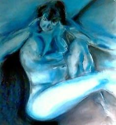 Painting, Drawing inspired, Blue Lady I, 1952. by Henri Matisse    eBay