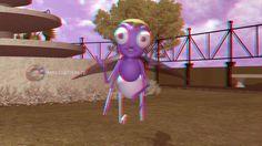 3D Stereoscopic Cartoon Animation   Mooshak GunGun Mouse in the House   ...