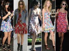 tendencias em roupas florais para o verao