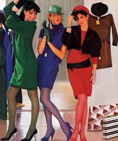 Hanes, Harper's Bazaar, September 1984.