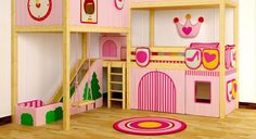 Girls Beds With Slides Loft Bed With Slide For Sale Kids Bunk Beds With Storage Trundle Bed Beds For Kids Girls, Bunk Beds For Boys Room, Bed For Girls Room, Kid Beds, Girl Room, Bed Rooms, Bunk Bed With Slide, Bunk Bed With Desk, Bunk Beds With Storage