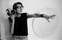 Helmut Newton at work