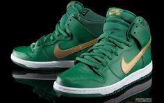 "Nike SB 2013 Dunk High Pro ""St. Patrick's Day"" 限定登場 - http://flipermag.com/2013/03/17/nike-sb-2013-dunk-high-pro-st-patricks-day-%e9%99%90%e5%ae%9a%e7%99%bb%e5%a0%b4/"