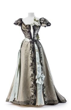 1895 Worth evening dress