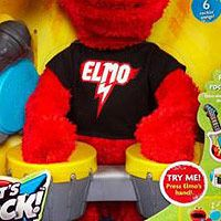 "Sesame Street Let's Rock Elmo - Hasbro - Toys ""R"" Us 39.99 another one of my daughter Christmas gifts"