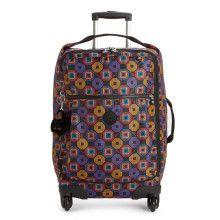 Darcey Small Printed Wheeled Luggage. Kipling HandbagsKipling BagsLightweight  LuggageTravel EssentialsSuitcaseCrowdVibrantCarry ... faf6017a79